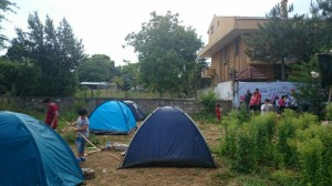 Kamp Armen ziyareti - Mayıs 2015
